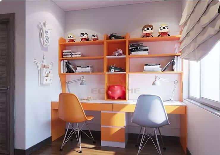 Phòng ngủ 2 - Thiết kế nội thất chung cư 2 phòng ngủ