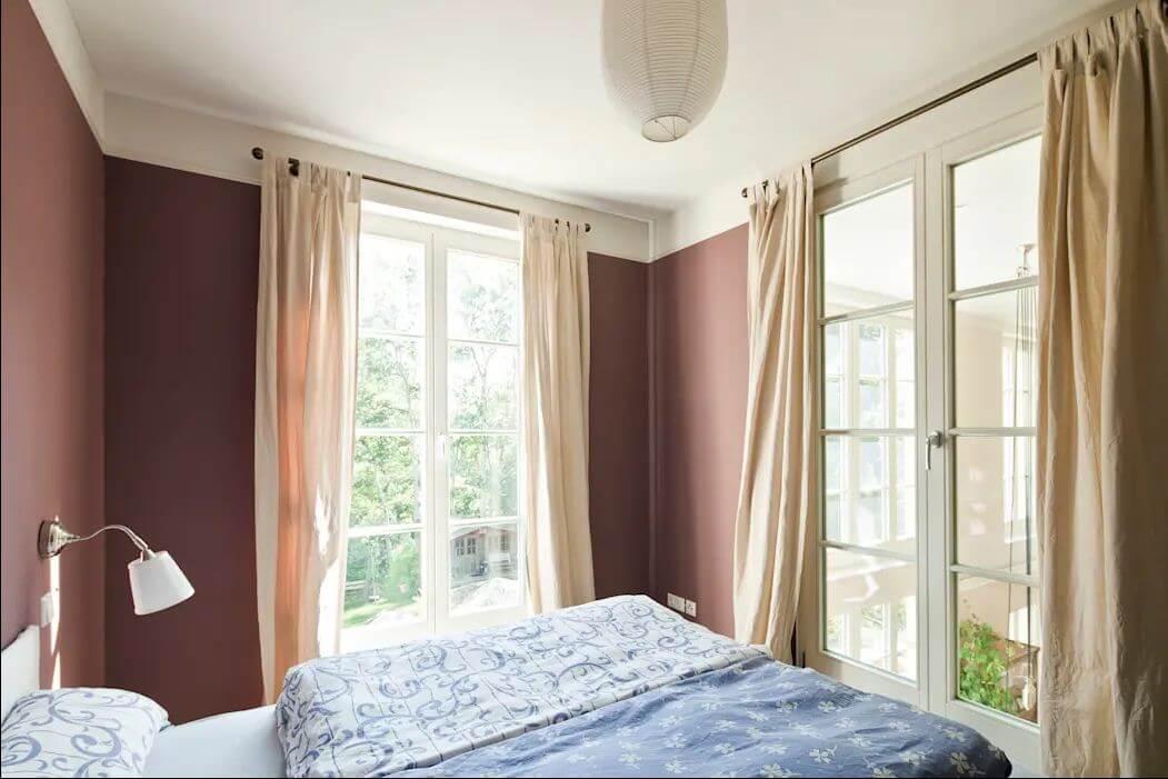 Phòng ngủ ấm cúng - Mẫu nhà nông thôn đẹp