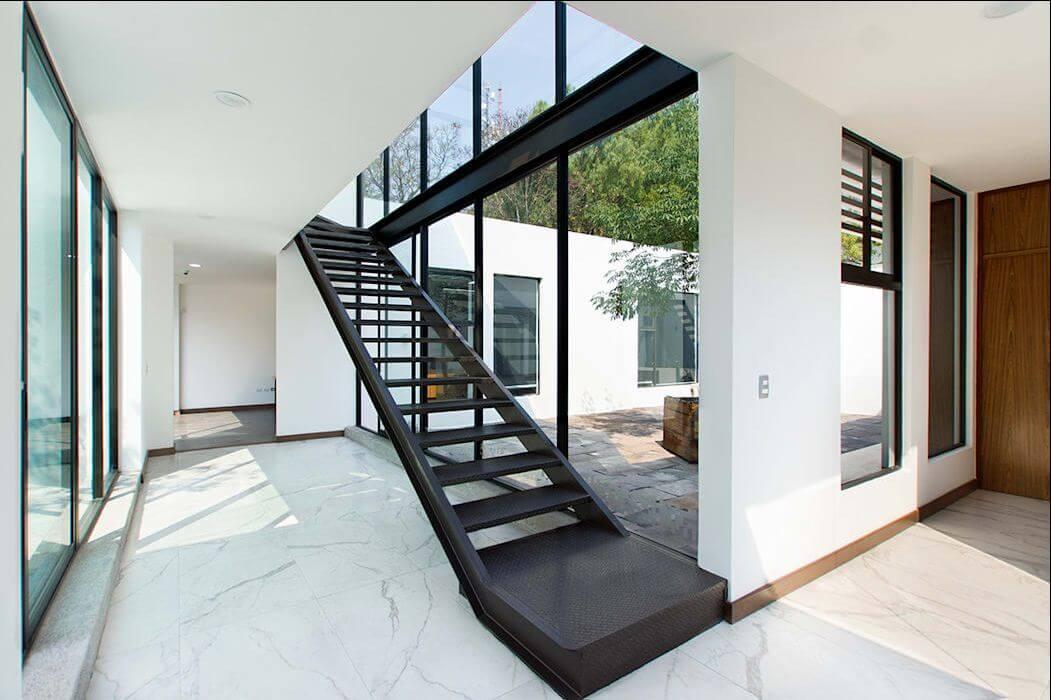 Thiết kế cầu thang hiện đại - Mẫu nhà ống đẹp hiện đại