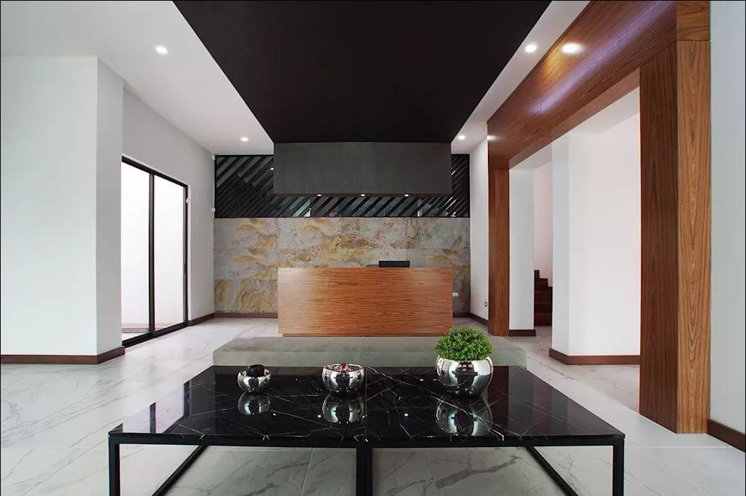 Phòng tiếp khách - Mẫu nhà ống đẹp hiện đại - 1