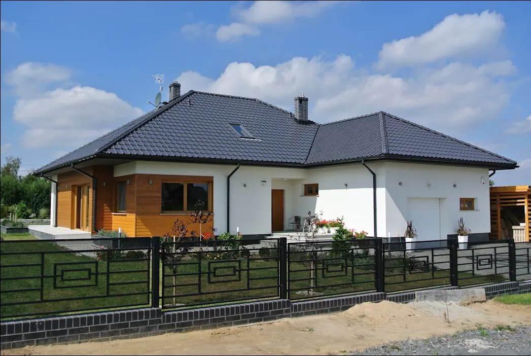 Toàn cảnh căn nhà - Mẫu nhà tiền chế đẹp