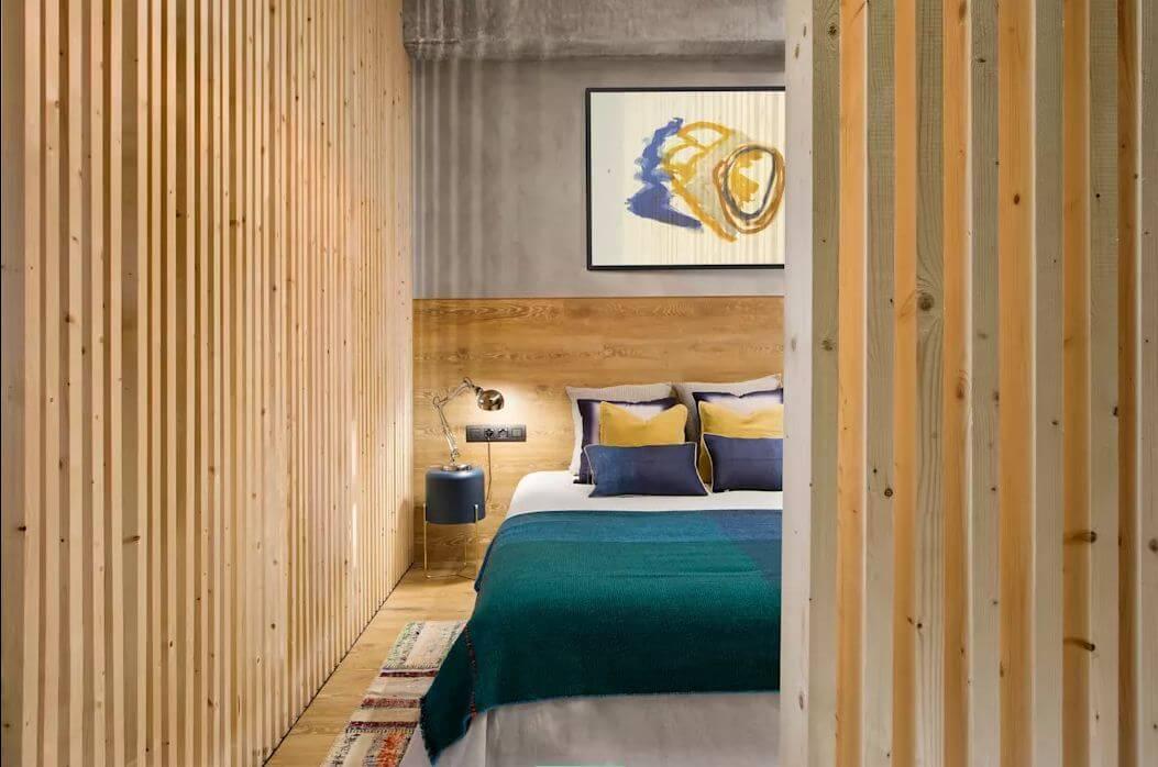 Phòng ngủ sáng tạo - Mẫu thiết kế nhà nhỏ 1 tầng - 2