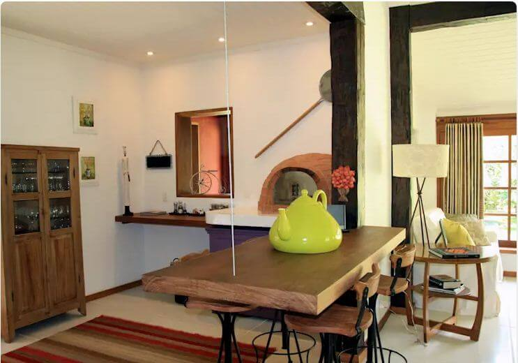 Phong cách nội thất trong phòng ăn - Nhà đẹp 1 tầng