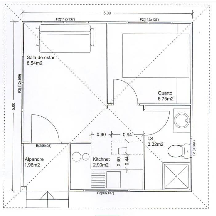 Bản vẽ nhà - Nhà đẹp cấp 4