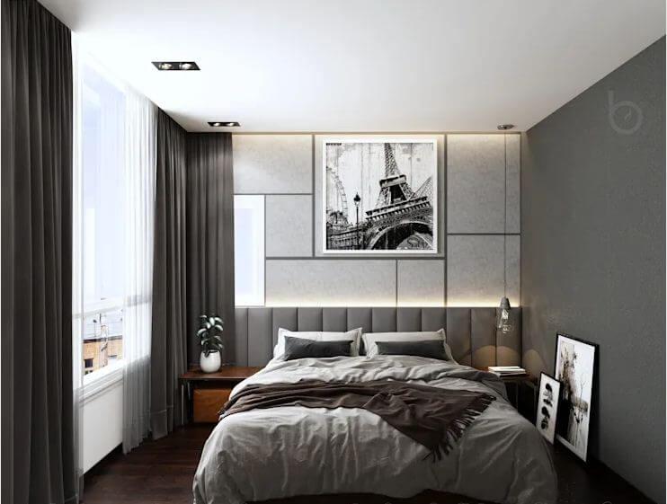 Thiết kế phòng ngủ sang trọng - Nhà phố hiện đại