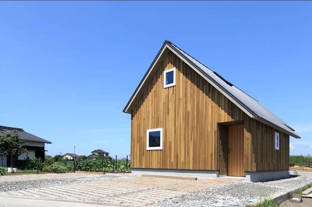 Mẫu nhà với tầng áp mái - Nhà siêu nhỏ