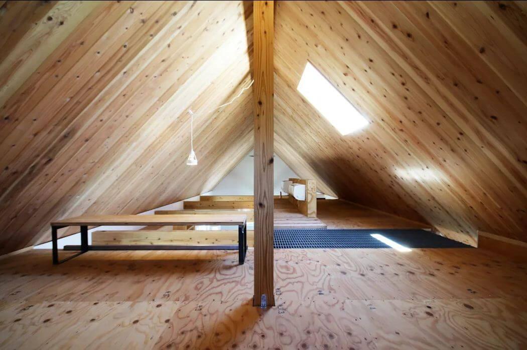Mẫu nhà với tầng áp mái - Nhà siêu nhỏ - 2