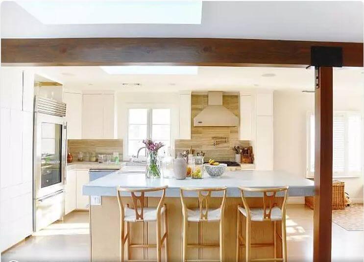 Phòng bếp gia đình hiện đại - Nhà nghỉ dưỡng