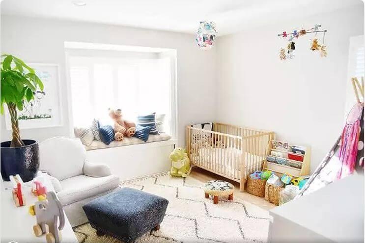 Phòng em bé dễ chịu và mát mẻ - Nhà nghỉ dưỡng