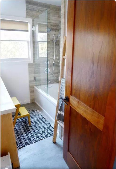 Phòng tắm thiết kế cơ bản - Nhà nghỉ dưỡng