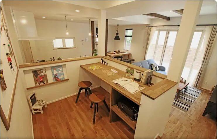Góc học tập lý tưởng - Thiết kế nhà nhỏ đẹp