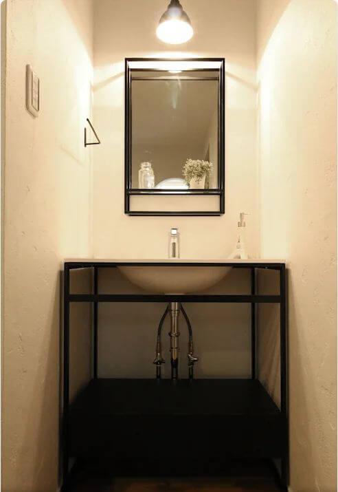 Bồn rửa tay phong cách - Thiết kế nhà nhỏ đẹp