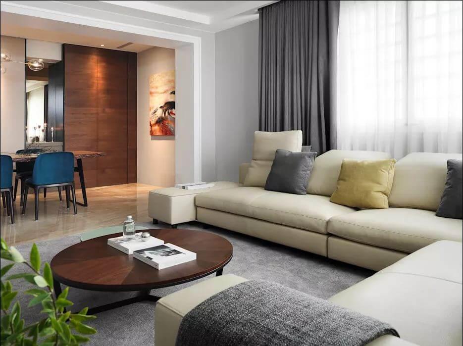 Phòng khách rộng thoáng - Thiết kế nhà ở hiện đại - 1