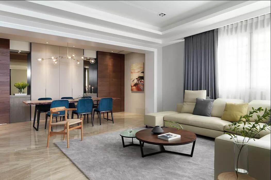 Thiết kế không gian mở - Thiết kế nhà ở hiện đại