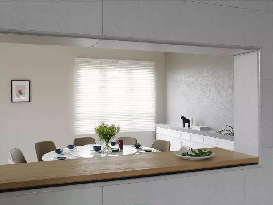 Phòng ăn cho đại gia đình - Thiết kế nhà ở hiện đại