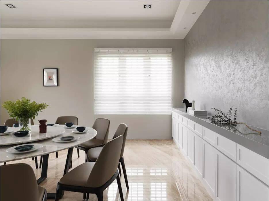 Phòng ăn cho đại gia đình - Thiết kế nhà ở hiện đại - 1