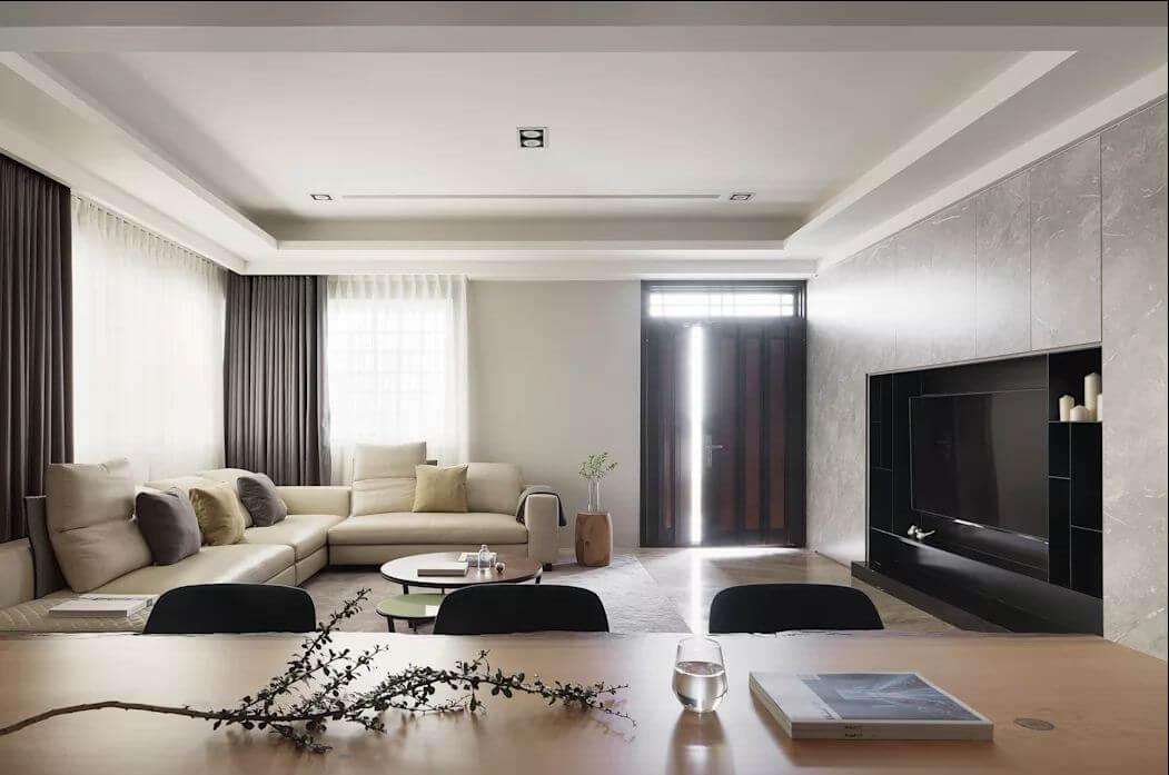 Phòng khách rộng thoáng - Thiết kế nhà ở hiện đại