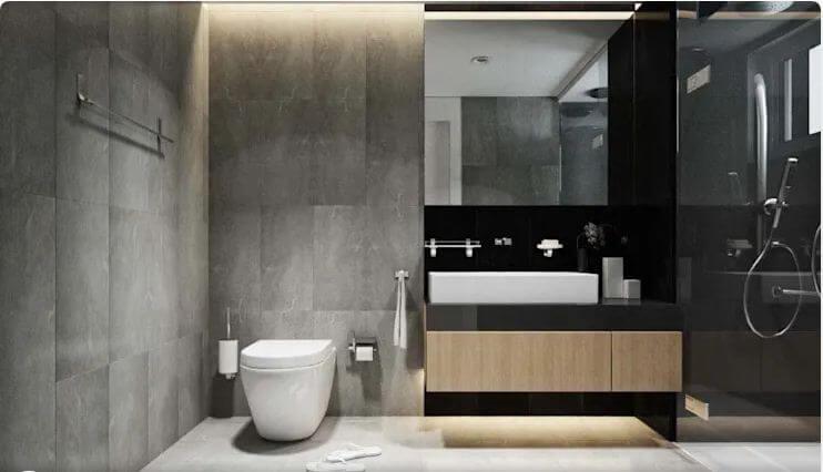 Phòng tắm bề thế, rộng rãi - Nội thất chung cư