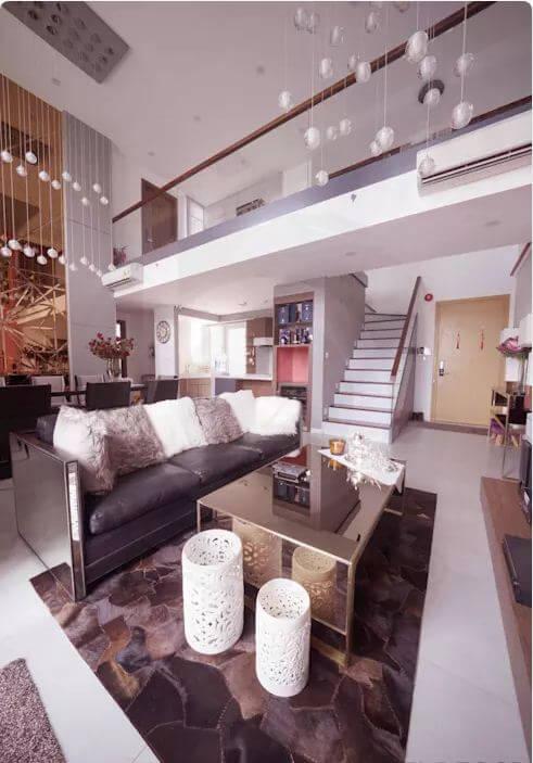 Phòng khách sang trọng - Thiết kế nội thất Penthouse