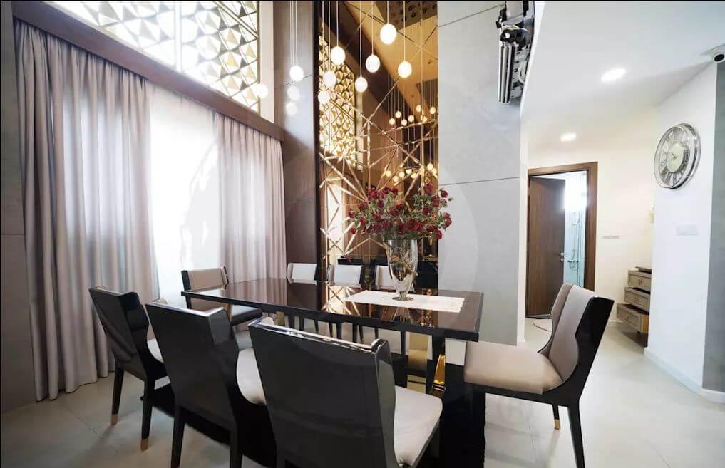 Phòng ăn - Thiết kế nội thất Penthouse