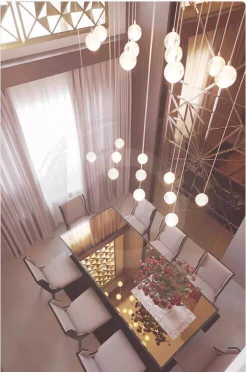 Phòng ăn - Thiết kế nội thất Penthouse - 1