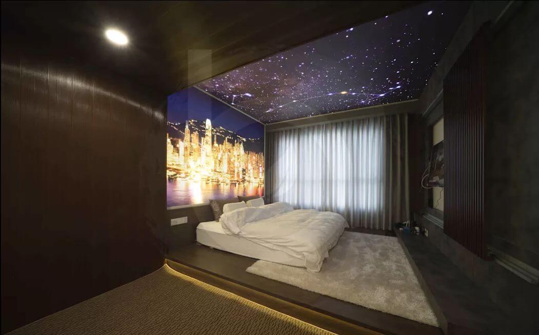 Phòng ngủ đẹp có một không hai - Thiết kế nội thất Penthouse