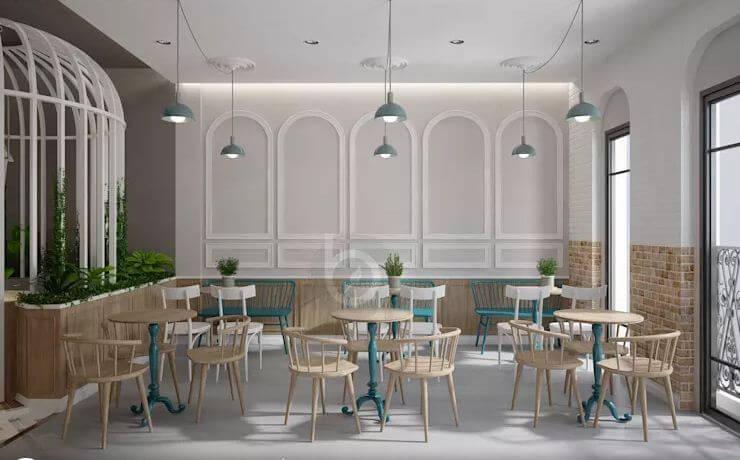 Các phụ kiện trang trí - Thiết kế quán trà sữa đơn giản - 1
