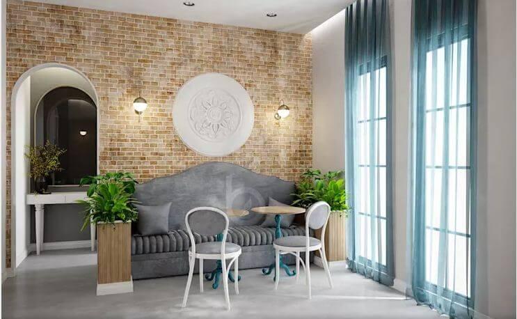 Đồ nội thất cơ bản - Thiết kế quán trà sữa đơn giản