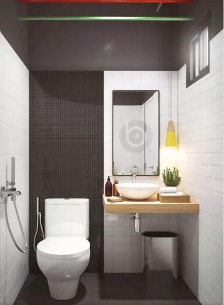 Nhà vệ sinh sang trọng - Thiết kế tiệm Nail