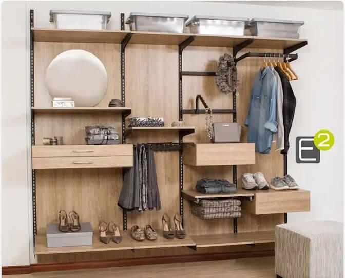 Ứng dụng làm tủ quần áo mở - Tủ đựng đồ