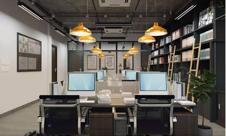 Không gian làm việc hiện đại, tiện nghi - Thiết kế văn phòng theo phong cách Industrial