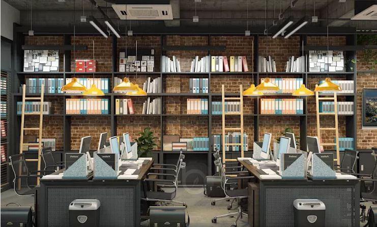 Không gian làm việc hiện đại, tiện nghi - Thiết kế văn phòng theo phong cách Industrial - 2