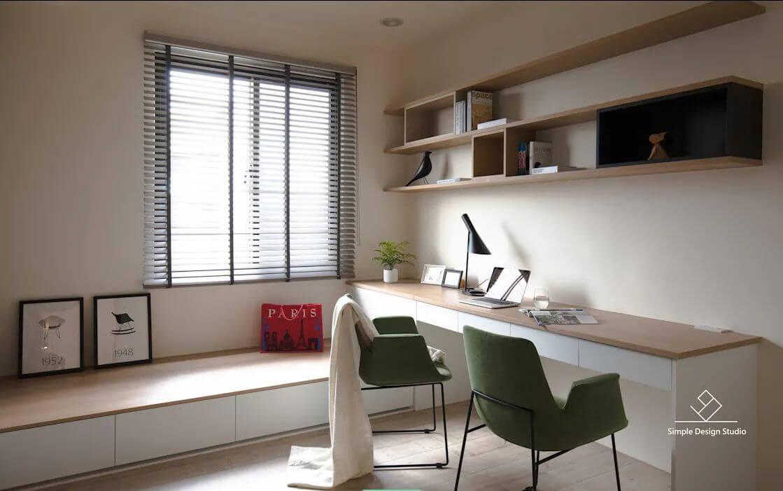 Sự mộc mạc và triết lý thiền khi thiết kế phòng làm việc