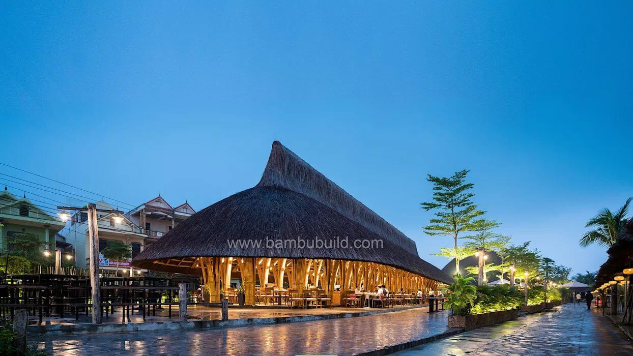 Nhà hàng Everland Bamboo - Thiết kế nhà hàng từ tre