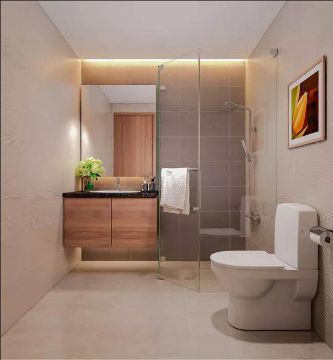 Hạn chế sử dụng những món đồ không cần thiết - Thiết kế nhà tắm - 1