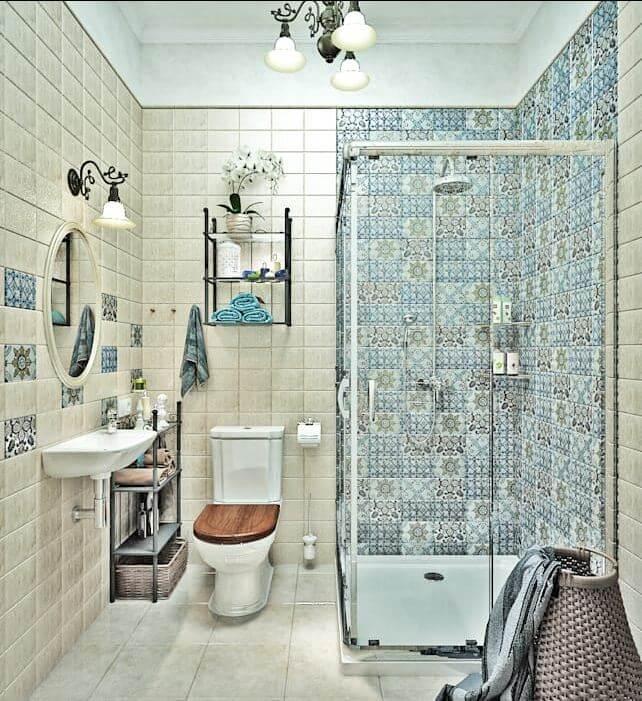 Nguồn sáng không đủ - Thiết kế nhà tắm