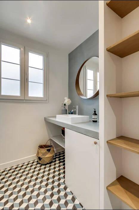 Chọn chất liệu khó lau chùi - Thiết kế nhà tắm - 1