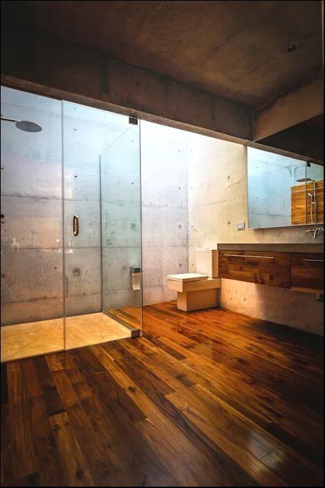 Chọn chất liệu khó lau chùi - Thiết kế nhà tắm - 2