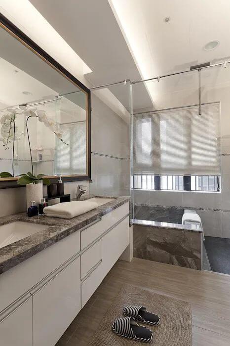 Hạn chế sử dụng những món đồ không cần thiết - Thiết kế nhà tắm