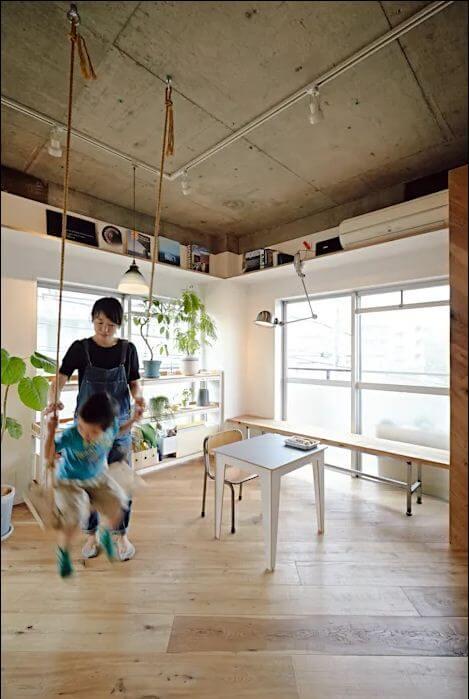 Trần thô thú vị - Mẫu trần nhà đẹp - 1