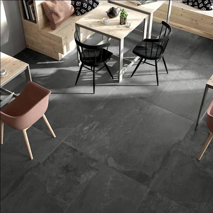 Sàn gạch vân đá tự nhiên - Vật liệu lót sàn