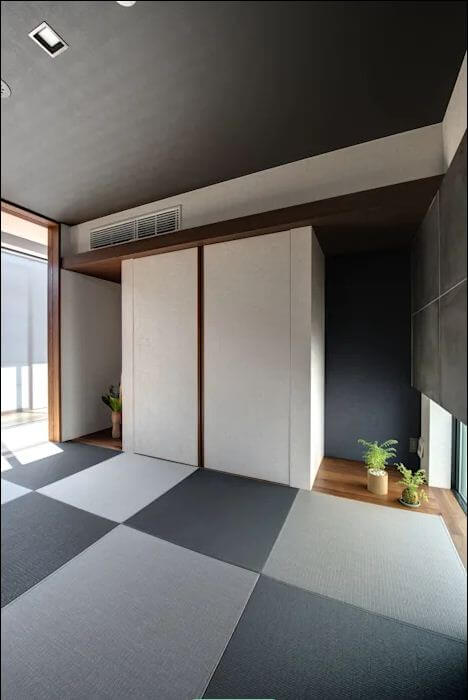 Kết hợp vào không gian truyền thống - Thiết kế nội thất đơn giản