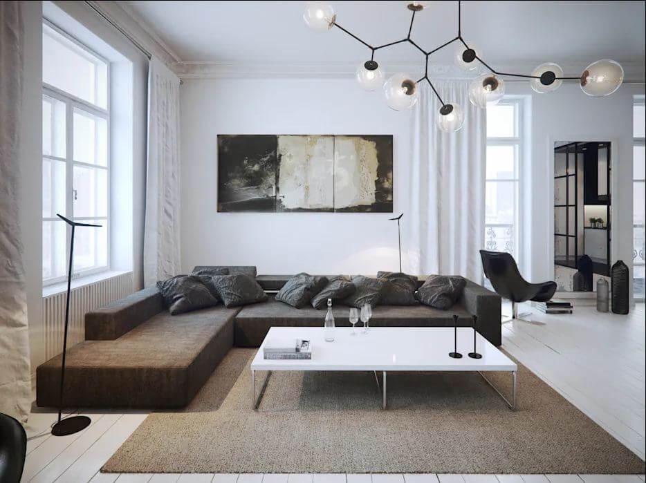 Phối hợp cũng những màu sắc khác - Thiết kế nội thất đơn giản