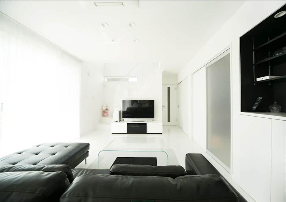 Sử dụng nội thất màu đen - Thiết kế nội thất tối giản
