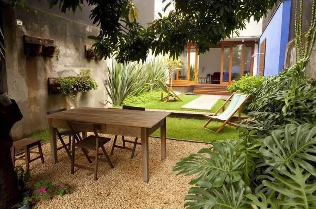 Mẫu ghế ngồi sân vườn theo kiểu ghế xếp thoải mái