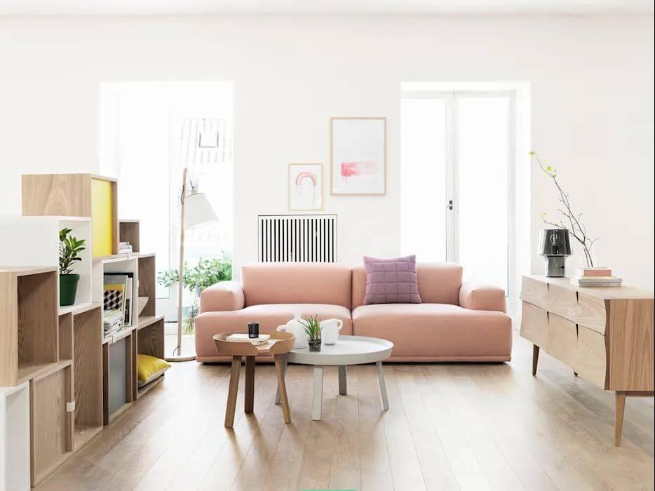 Trang trí bộ sofa sắc màu - Trang trí nhà cửa đẹp