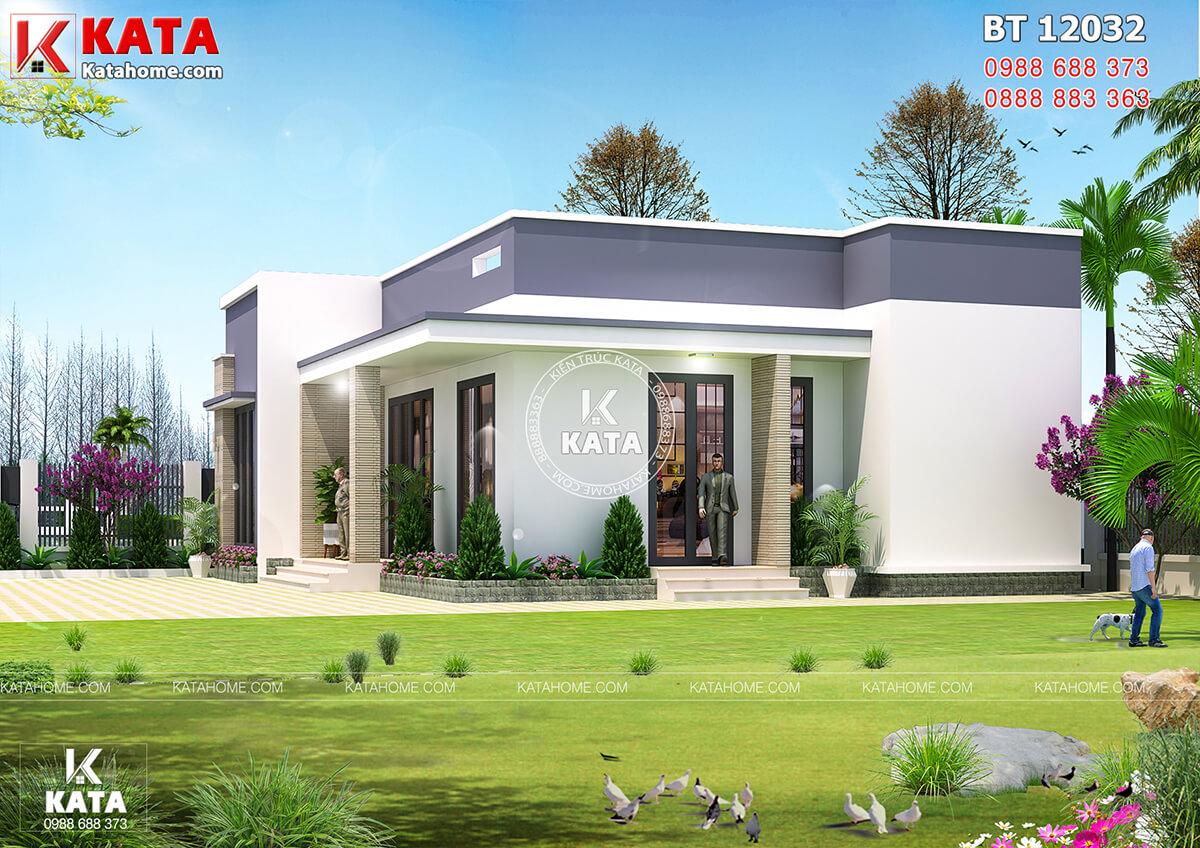 Các nguyên vật liệu kết hợp linh hoạt tạo nên lối kiến trúc hiện đại cho căn nhà
