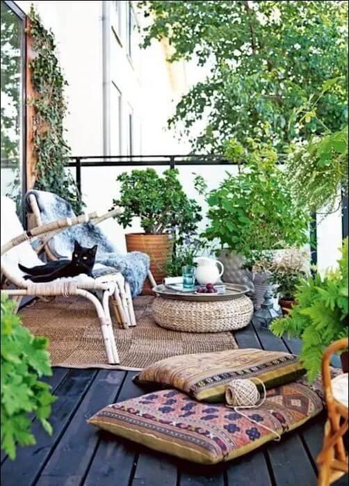 Tạo một khu vườn nhỏ trên không