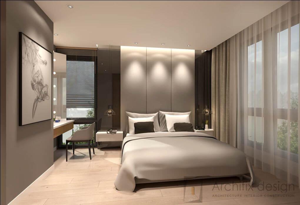 Thêm hình ảnh về phòng ngủ tại căn hộ Duplex - 1