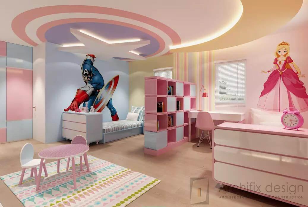 Phòng ngủ trẻ tại căn hộ Duplex - 1